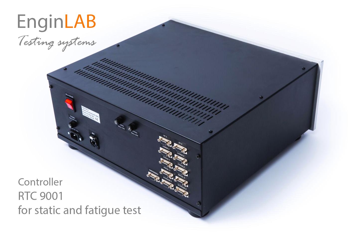 Controllore RTC-9001 per prove di fatica
