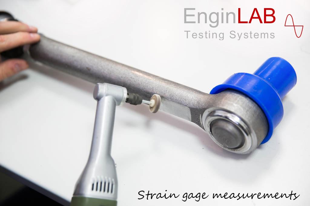 Misure di forza assiale con estensimetri