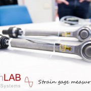Misure di forza ssiale con estensimetri